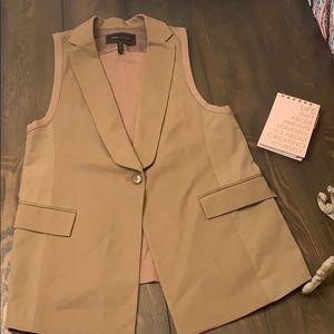 BCBGMaxazria Tuxedo Vest